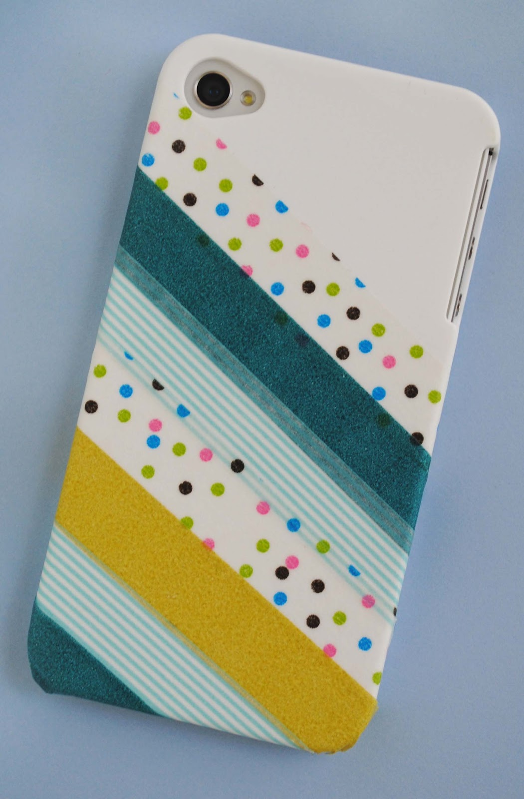 Zakka life craft washi tape phone cover for Crafts with washi tape