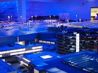 Miniatur Wunderland Hamburg - Knuffingen Airport at night
