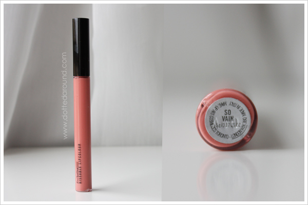 MAC Kissable Lipcolor So Vain Shop Cook