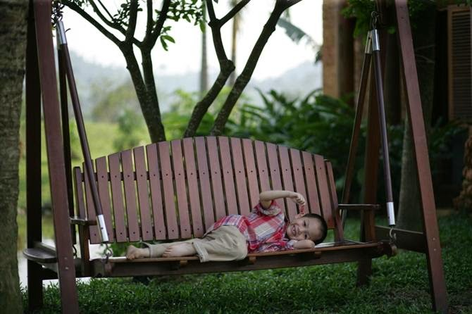 outdoor swing in the garden | Vietnam Outdoor Furniture
