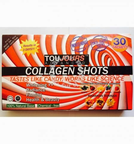 toujours advanced collagen shots