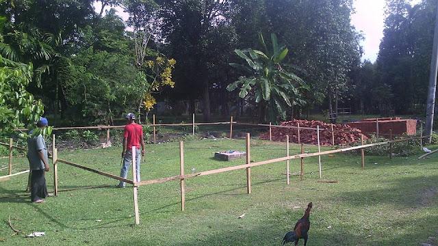 Proses Pembangunan Kantor Desa 3 Gampong Meunasah Blang Krueng Semideun Kec. Peukan Baro Kab. Pidie - Aceh