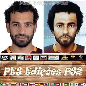 Mohamed Salah (Roma) e Egito PES PS2