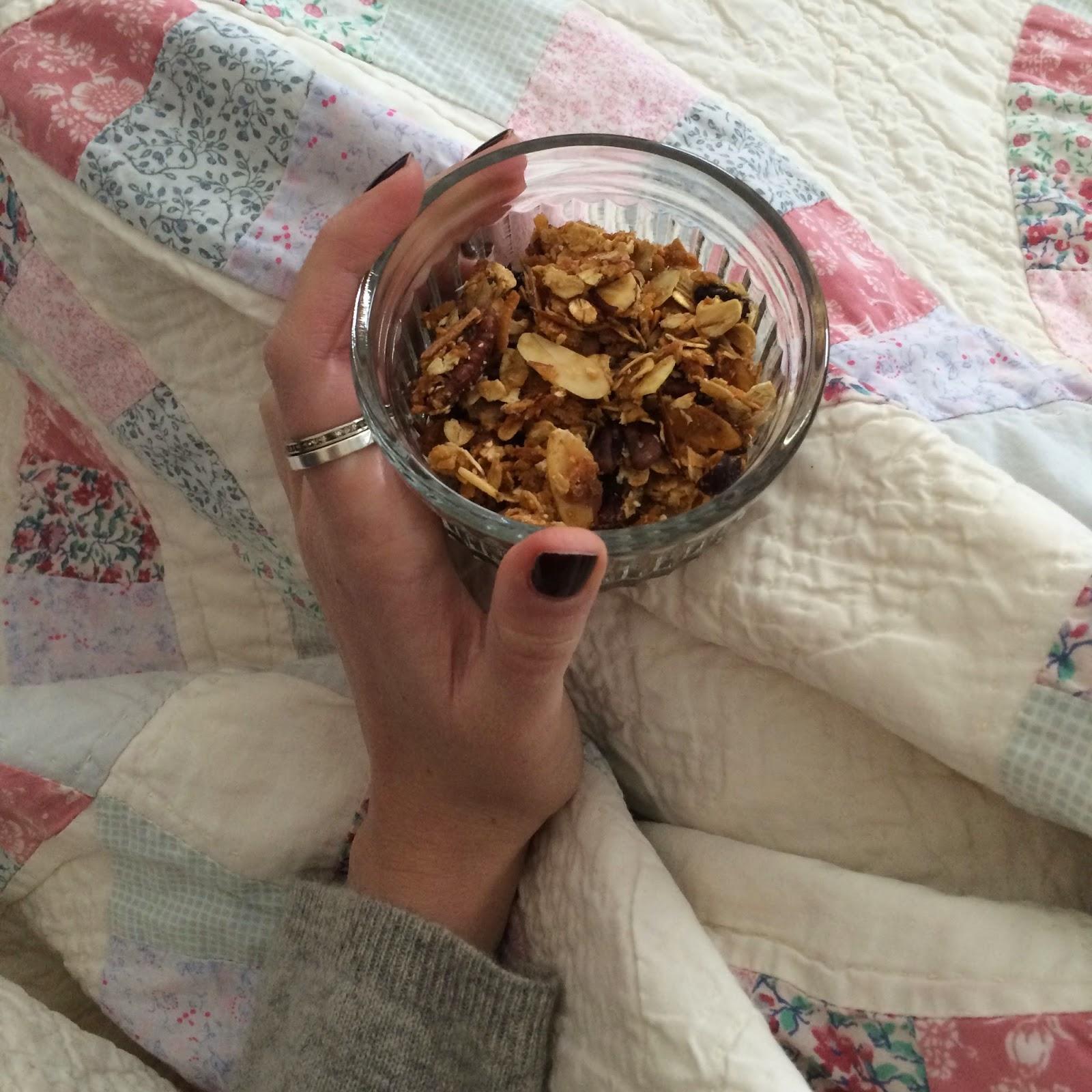 Coconut Granola, Project Soiree, Breakfast, Recipe
