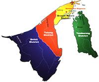 Brunei Darussalam Districs
