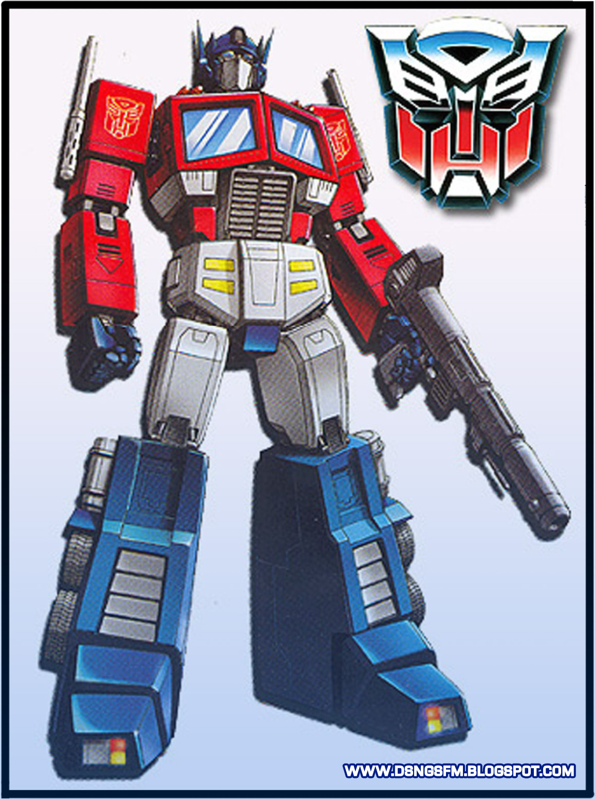 Optimus prime g1 generation 1 and compare it to the rotf movie