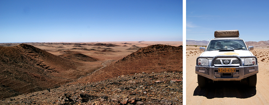 Ynas Reise Blog | Ausflug mit Guide bei Purros in Namibia