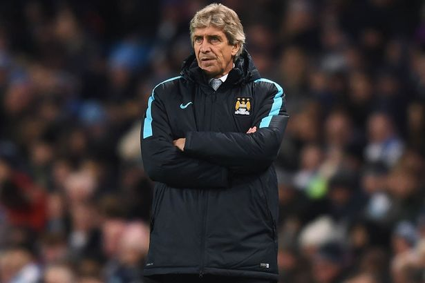 Tough choices: Pellegrini hooked Toure and Navas at the break