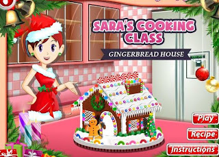Gingerbread House Sara's Cooking Class