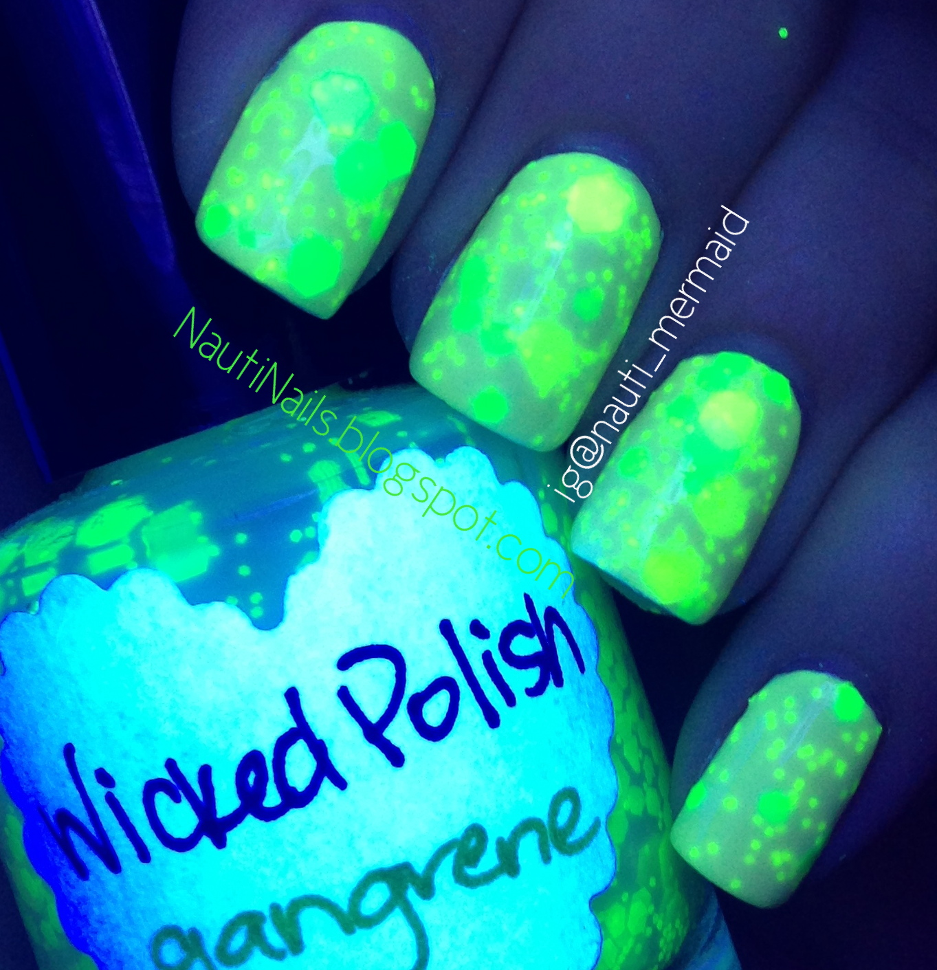 Nauti Nails: Catch Up! Serum No. 5, Wicked Polish, Different ...