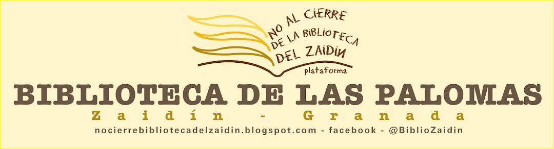 No al cierre de la Biblioteca del Zaidín