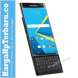 BlackBerry Priv Dibanderol Rp12 juta