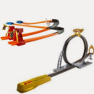 Buy Hot Wheels Turbo Race Set Rs. 162 & Hot Wheels Speed Cycles Daredevil Stunt Track Set Rs. 243 at Amazon
