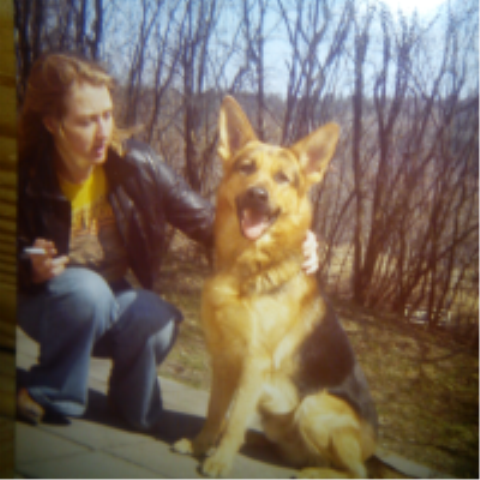 Unga jag och min bästa kompis Jimmy