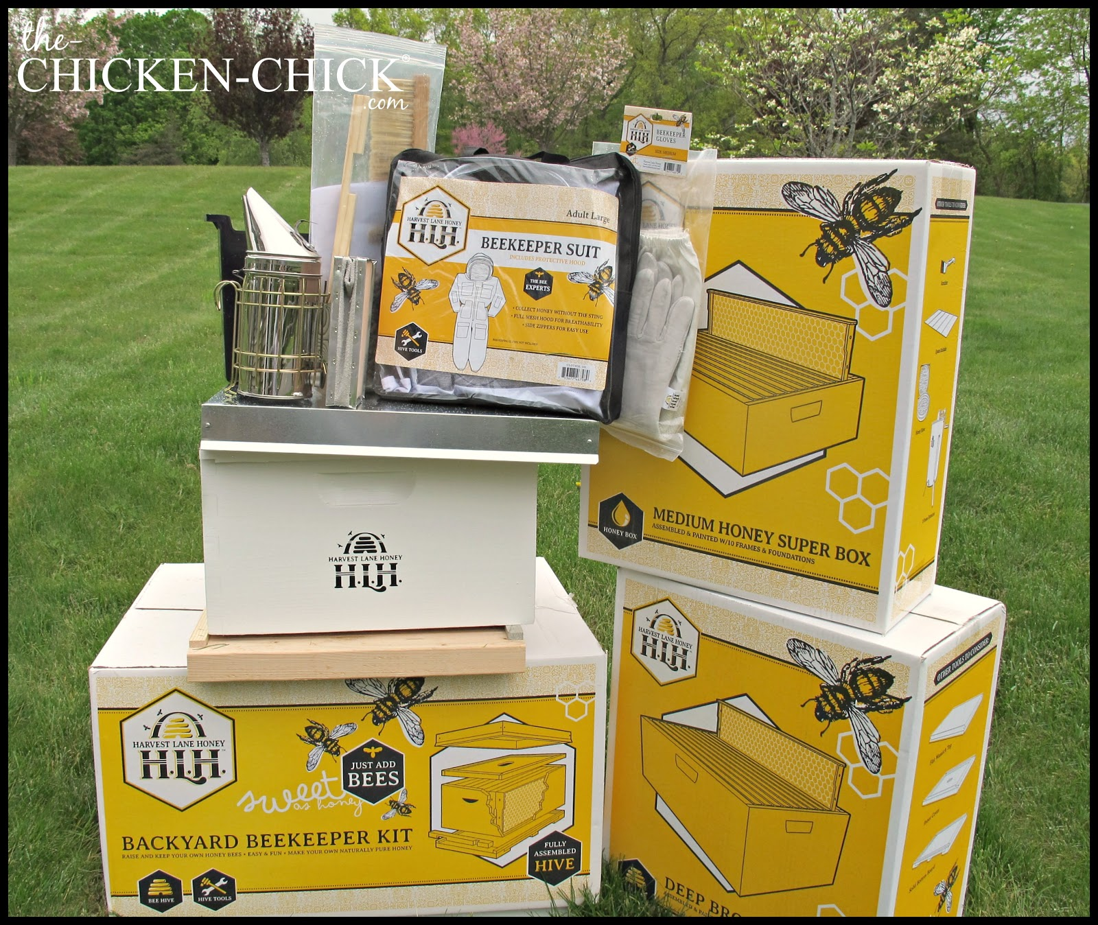 Genial Backyard Beekeeper Kit And Equipment.