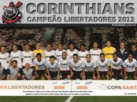 POSTER CORINTHIANS CAMPEÃO DA LIBERTADORES 2012