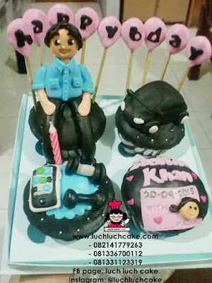 Birthday Cupcake Untuk Pacar Daerah Surabaya - Sidoarjo