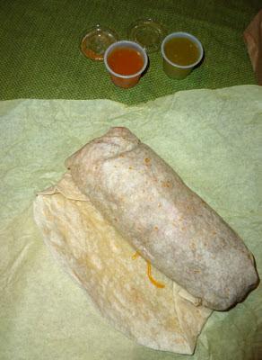 Vegetarian Burrito, Veggie Burrito, Portland Burrito Junkie