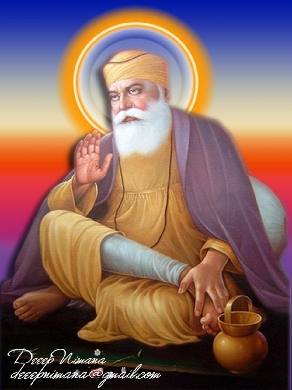 Shri guru nanak dev ji punjabi wallpapers hollywood wallpapers bollywood wallpapers love - Guru nanak dev ji pics hd ...