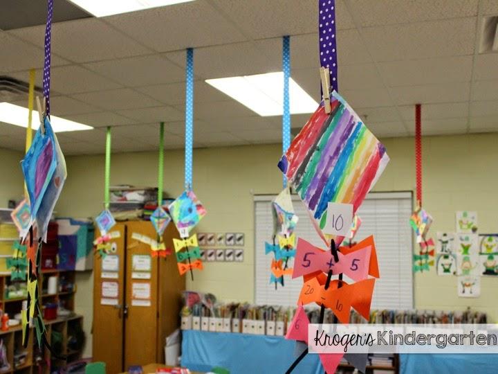 Classroom Mobiles Ideas : Kroger s kindergarten ceiling ribbons all grades