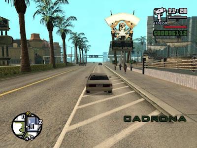 GTA San Andreas Game Screenshot