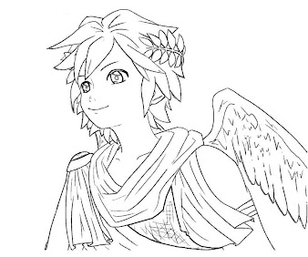 #1 Pit Coloring Page