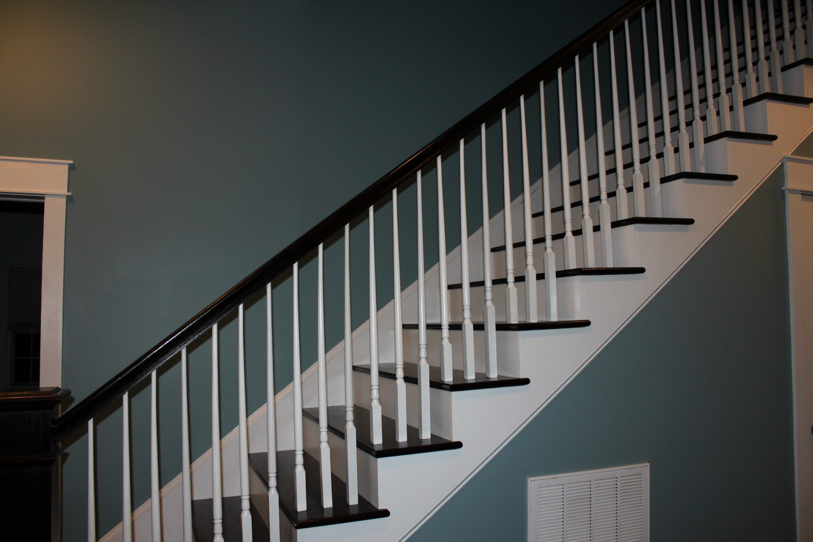 Once Upon A Farmhouse Finished Staircase