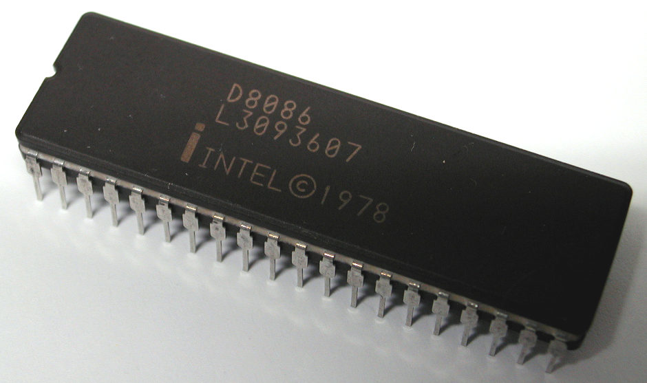 Intel 8086 from 1978.