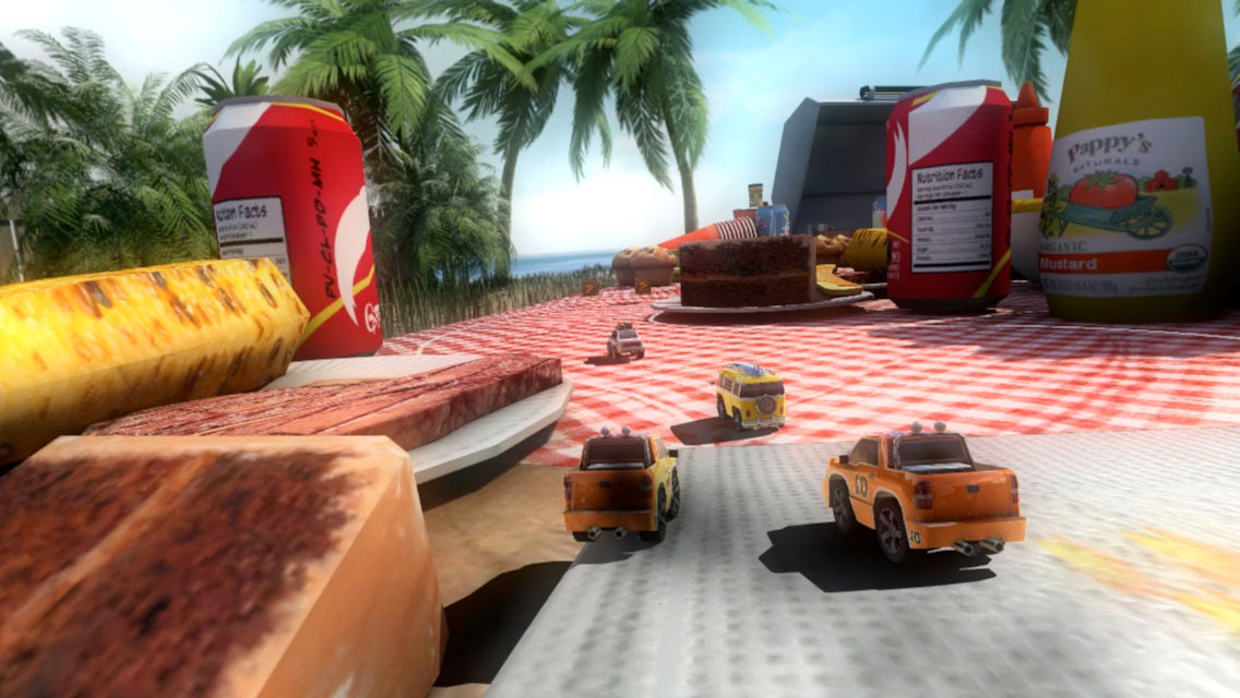 Table Top Racing para ios y android