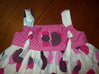 Knot Dress in Pink