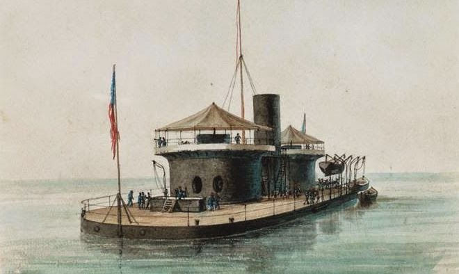 Napoleon (OH) United States  city pictures gallery : Dawlish Chronicles : Diplomacy at Sea: USS Miantonomoh 1866/67