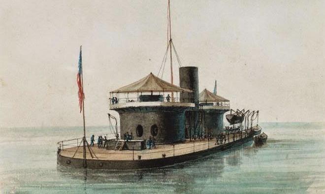 Napoleon (OH) United States  City new picture : Dawlish Chronicles : Diplomacy at Sea: USS Miantonomoh 1866/67