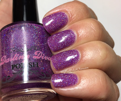 Darling Diva Polish The Force Collection; I'd Just As Soon Kiss A Wookie!