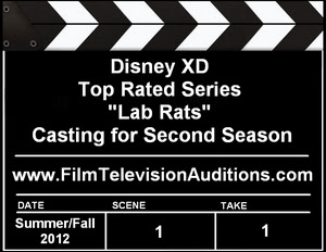 Disney XD Lab Rats Season 2 Auditions Casting