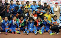India Win Nehru Cup 2012