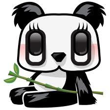 panda ... hitam dan putih