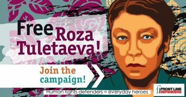 Free Roza Tuletaeva