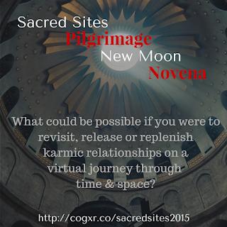 http://cogxr.co/sacredsites2015 - Virtual Pilgrimage & New Moon Novena