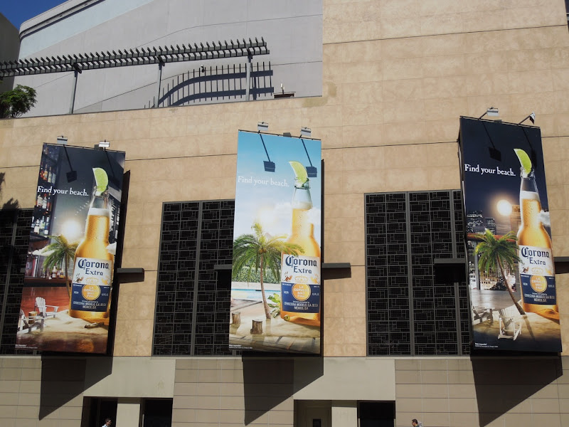 Corona Extra Find your beach billboards