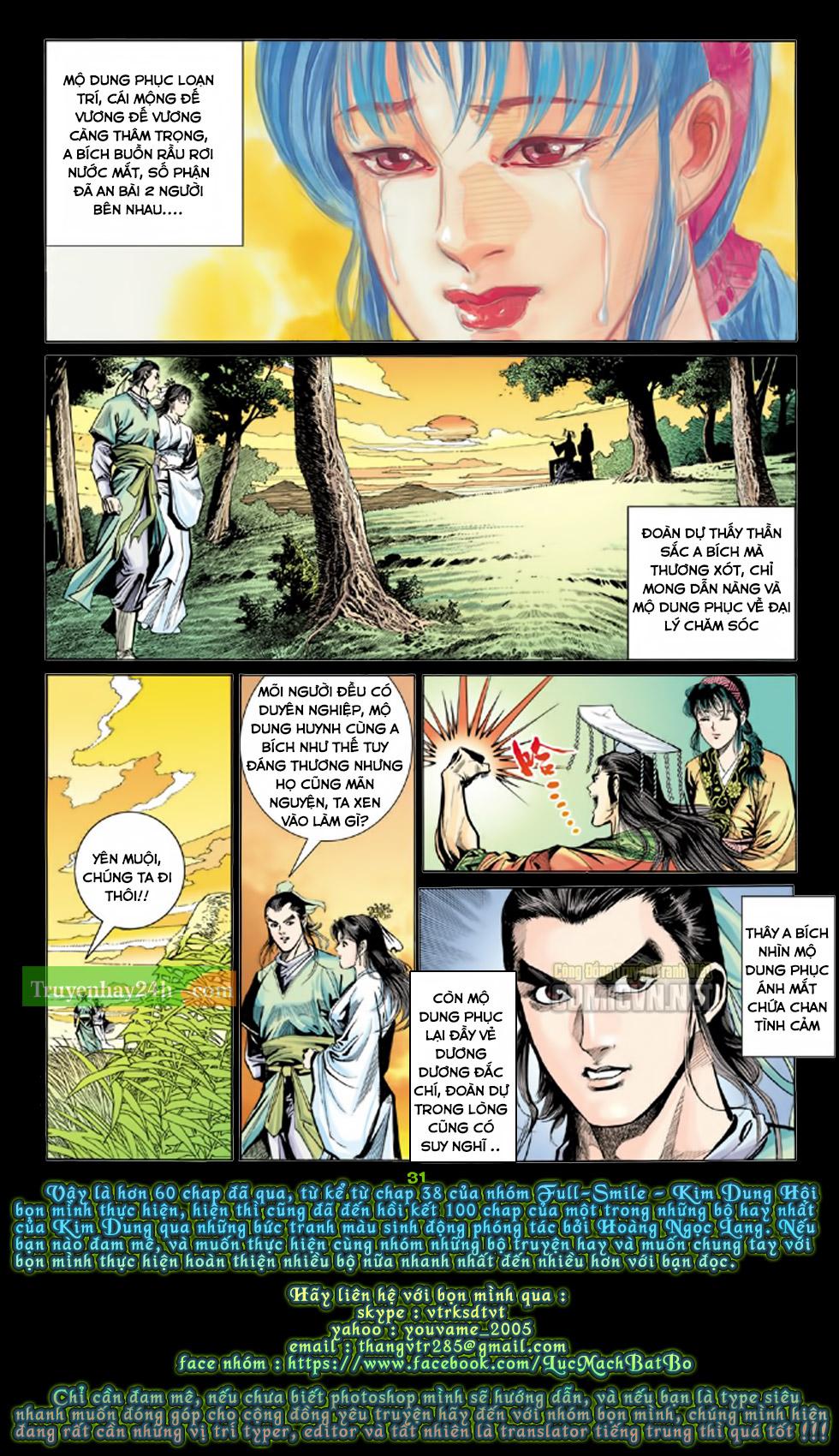 Thiên Long Bát Bộ chap 100 - Trang 31