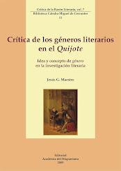 Crítica de los géneros literarios en el Quijote. Idea y concepto de «Género» en la literatura