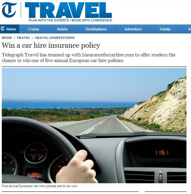 Car Hire Excess Insurance  Car Rental Excess Insurance