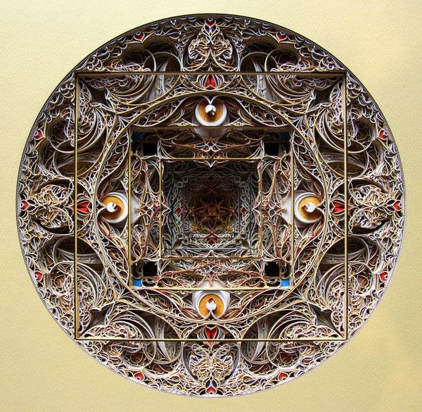 Incredible Laser Cut Paper Art by Eric Standley 1