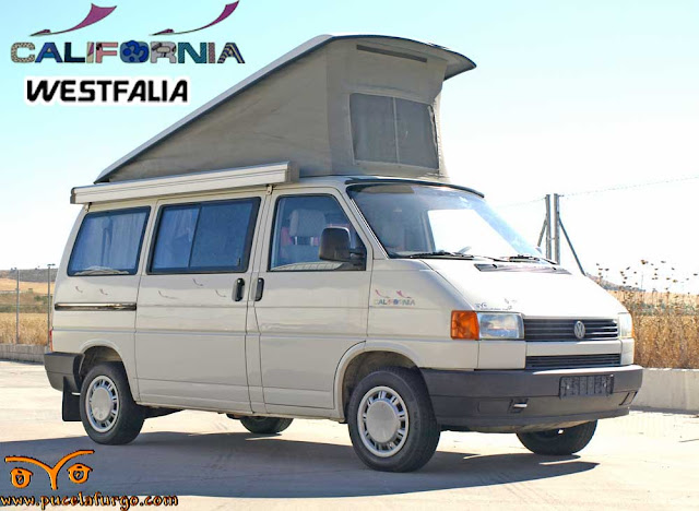 VW T4 CALIFORNIA WESTFALIA 2.4 D. AIRE ACONDICIONADO 1991 Precio: 13.500 €