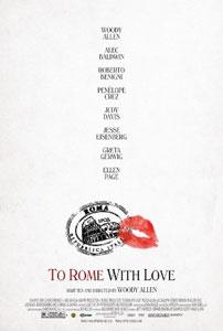 Poster original de A Roma con amor
