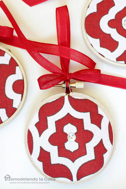 geometric designs on ornaments