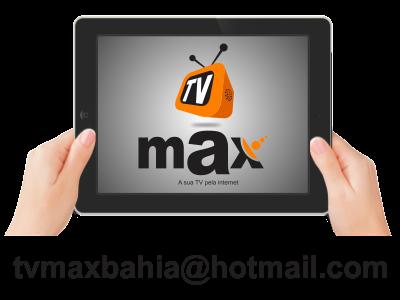 TV MAX - A sua TV pela internet