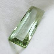 Batu Permata Green Prasiolite - SP949