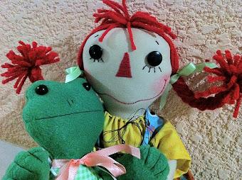 Ann & froggy