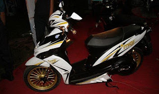 MODIFIKASI-YAMAHA MIO J MODIFIKASI